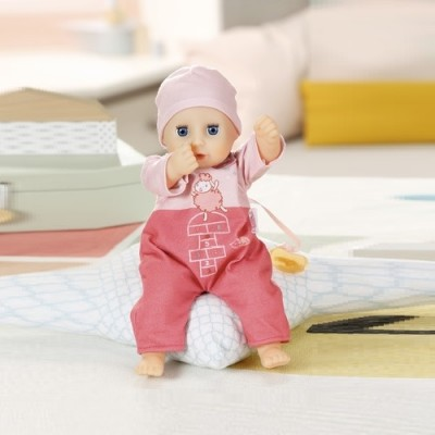 Zapf интерактивная кукла my first baby annabell забавная малышка 30 cm пупс беби аннабель девочка фото №1
