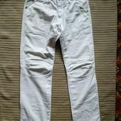 Красивые белоснежные фирменные джинсы-элвуды G-Star Raw. Голландия 33/34