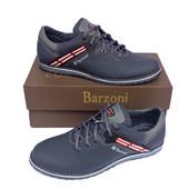 Кожаные спортивные туфли Barzoni №20 синие