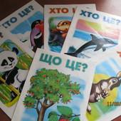 """Дитячі пізнавальні книги серії """"Хто це? Що це?"""""""