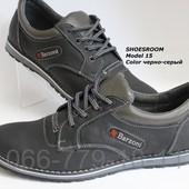 Кожаные мужские туфли ТМ Barzoni