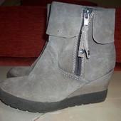 Кожаные фирм ботинки Bama 38 р(сост новых)