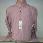 Мужская рубашка с длинным рукавом в клетку Mango.
