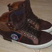Pantofola d'oro sneakers 44р. Кроссовки сникерсы. Замшевые.