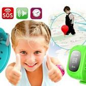 умные детские часы -телефон smart watch Q50 бесплатная доставка!!