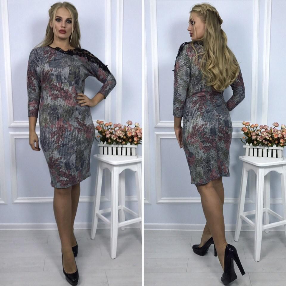 Платье 3 расцв.  к2761 фото №1