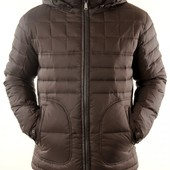 Пуховик, куртка на демисезон и зиму теплую Malidinu, р-р 48-50, цвет черный