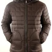 Пуховик, куртка на демисезон и зиму Malidinu, р-р 48-50, цвет черный