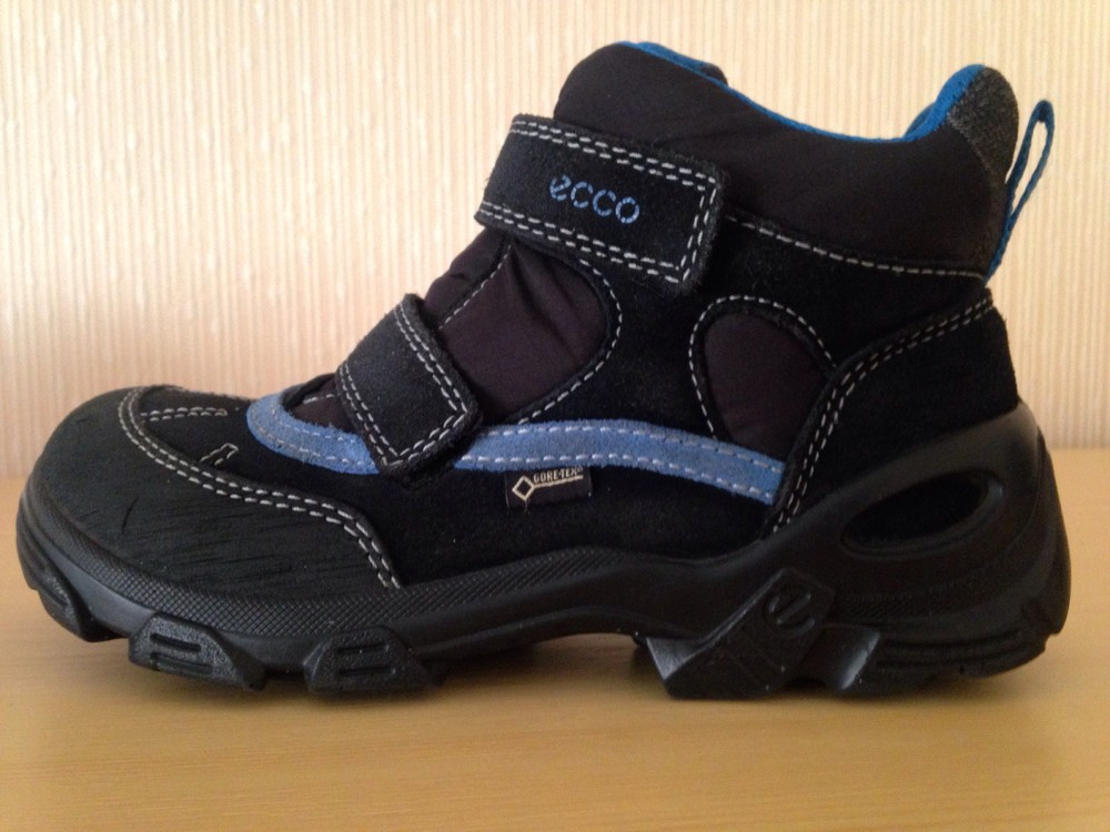 Зимние ботинки ecco gore tex