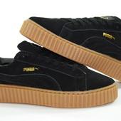Мужские замшевые кроссовки Пума 1602-2