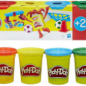 Набор массы для лепки Play-Doh 672 гр. 6 банок  от Hasbro плей до