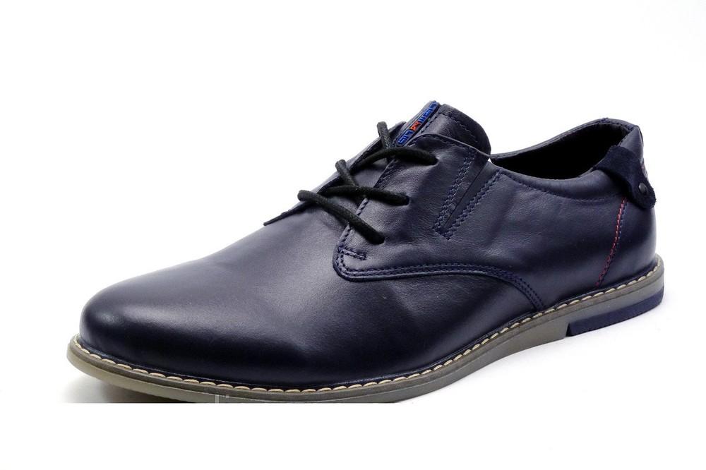 Туфли Checco, р. 40-45, натур. кожа, код kv-2871 фото №1