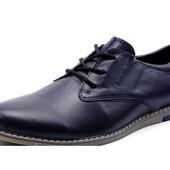 Туфли Checco, р. 40-45, натур. кожа, код kv-2871