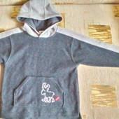 Теплая флисовая  ( кофта) Palomino  для мальчика 5 -6 лет (110 -116) большемерит
