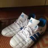 Кроссовки кожаные Adidas унисекс 40 р