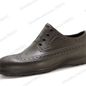 Мужские туфли от непогоды ЭВА, Коричневые. Цена снижена!