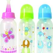 Бутылочка мягкая для каш с ложечкой и приспособлением для чистки Lindo LI 123