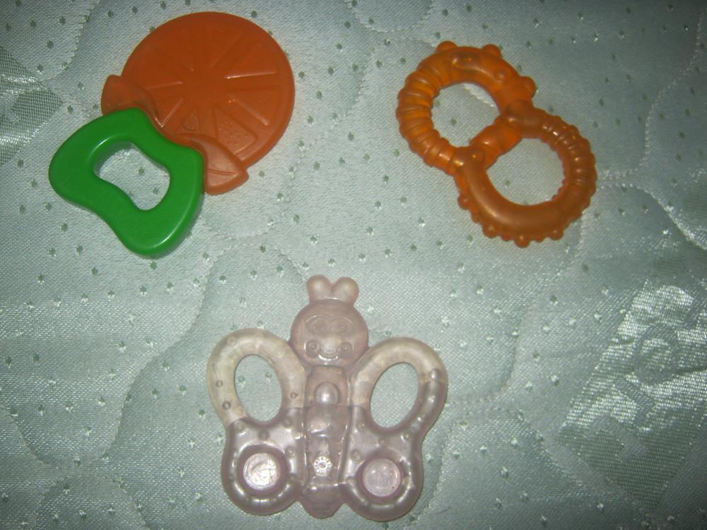 Три грызунка, прорезывателя для зубов фото №1