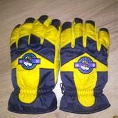 мужские термо перчатки