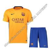 Футбольная форма Барселона 2015-2016 Nike выездная (1583)