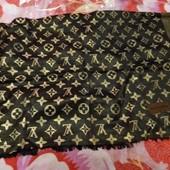 Стильный платок - палантин с монограммой L ouis vuitton