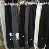 Спортивные штаны облегчённые и тёплые (на флисе)Nike, Adidas, Reebok