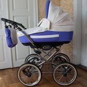 Классическая детская коляска 2 в 1 Adamex Royal
