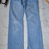 Крутые джинсы мужские рваные 32