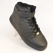 Кроссовки высокие с липучкой 2 цвета Т6809