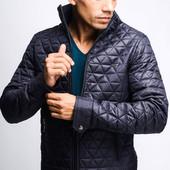 Модная мужская куртка прямого силуэта 3 цвета , 23088