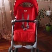 коляска прогулочная CAM Portofino Elegant красная