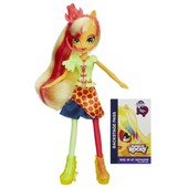 Кукла Эпл Джек из серии радужный рок my little pony Applejack equestria girls rainbow rocks эплджек
