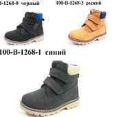 100-В-1268 расцветки смотрите фото Детские демисезон ботинки ,J&G, размеры 27-32