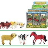 Набор фигурок животных «Super Farm» 3 штуки (баран, конь, корова) Q9899-197
