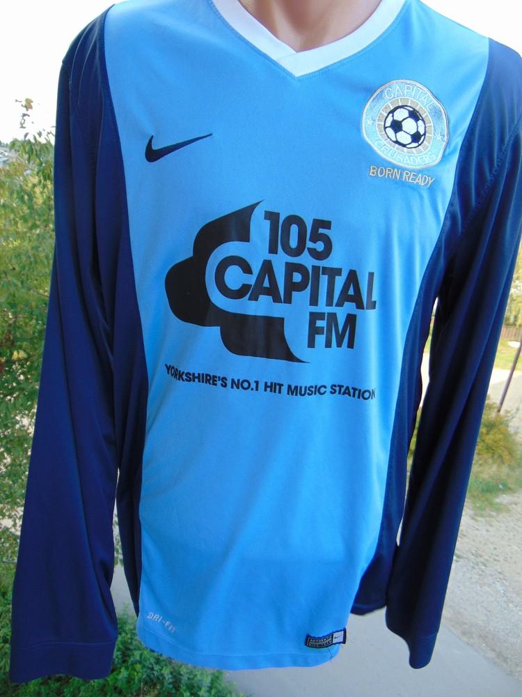 Фирменная спортивная футболка футбол Nike.м фото №1