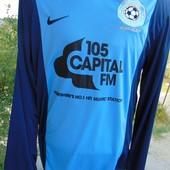 Фирменная спортивная футболка футбол Nike.м