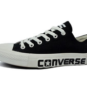 Кеды Converse All Star (черные, белые)