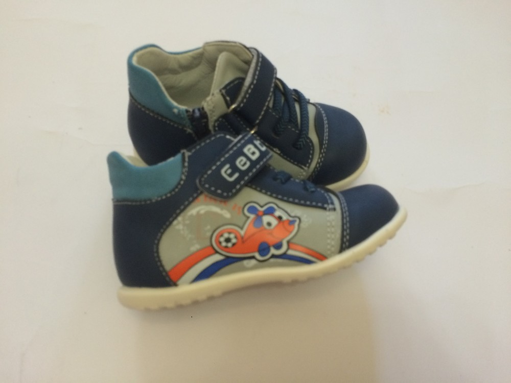 Ботинки деми для мальчика фото №5