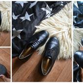 Классические кожаные туфли-оксфорды,р-р 42