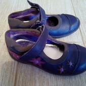 Туфли кожаные Кларкс 24 размер 15 см по стельке