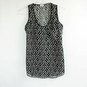 XS-S Pimkie блузка-майка в абстракции недорого!0123