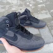 Распродажа зимние Nike Lunar Force серо-черные наложенным платежом