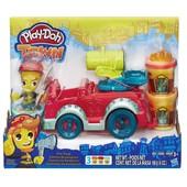 Play-Doh Пожарная машина плей дох town fire truck