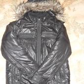 Куртка-пуховик подростку.Производство Венгрия.