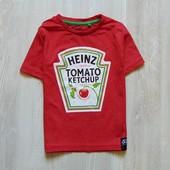 Тематическая футболка для мальчика. George. Размер 1.5-2 года. Состояние: новой вещи