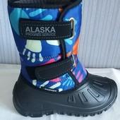 Тёплые дутыши, детские, зимние, лёгкие сапоги сноубутсы для комфортной ходьбы и тёплых ног