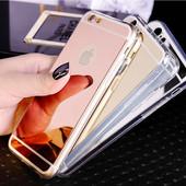 Чехол Зеркальный на iphone 5, 5s, 6, 6s, 6 plus, 7, 7s, 7plus
