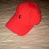 Красная кепка, бейсболка Ralph Lauren