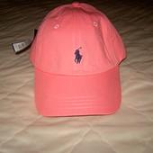 Розовая  кепка, бейсболка Ralph Lauren