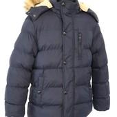 зимняя куртка на мальчика 2 цвета  6-16 лет